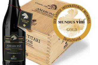 Brunelli Amarone Titari Gold Medal Mindus 2016